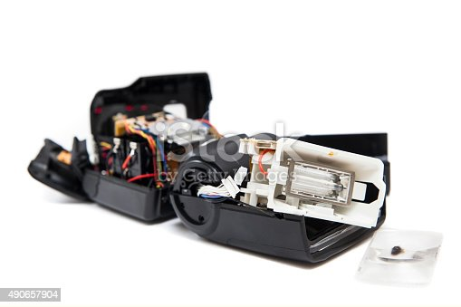 Broken Camera Speedlight Flash Gun