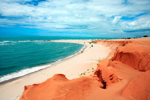 Canoa Quebrada stock photo