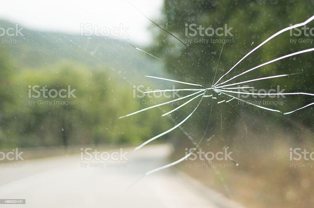 broken Auto Glas – Foto