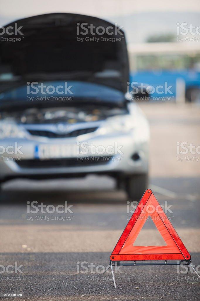 broken car stock photo