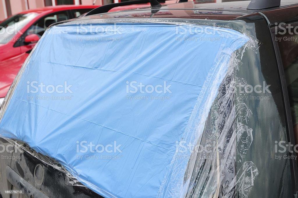 Defekte Auto Fenster – Foto