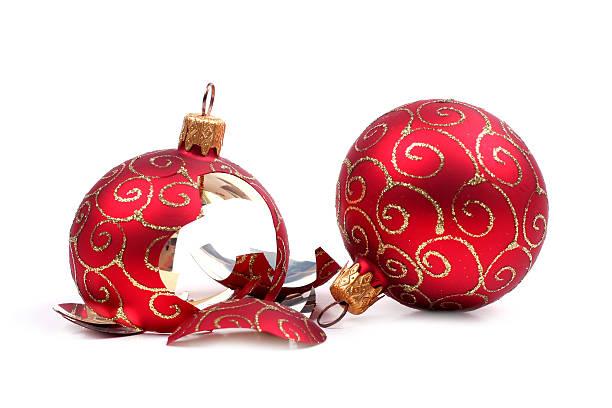 fehlerhafte Weihnachten Kugel – Foto