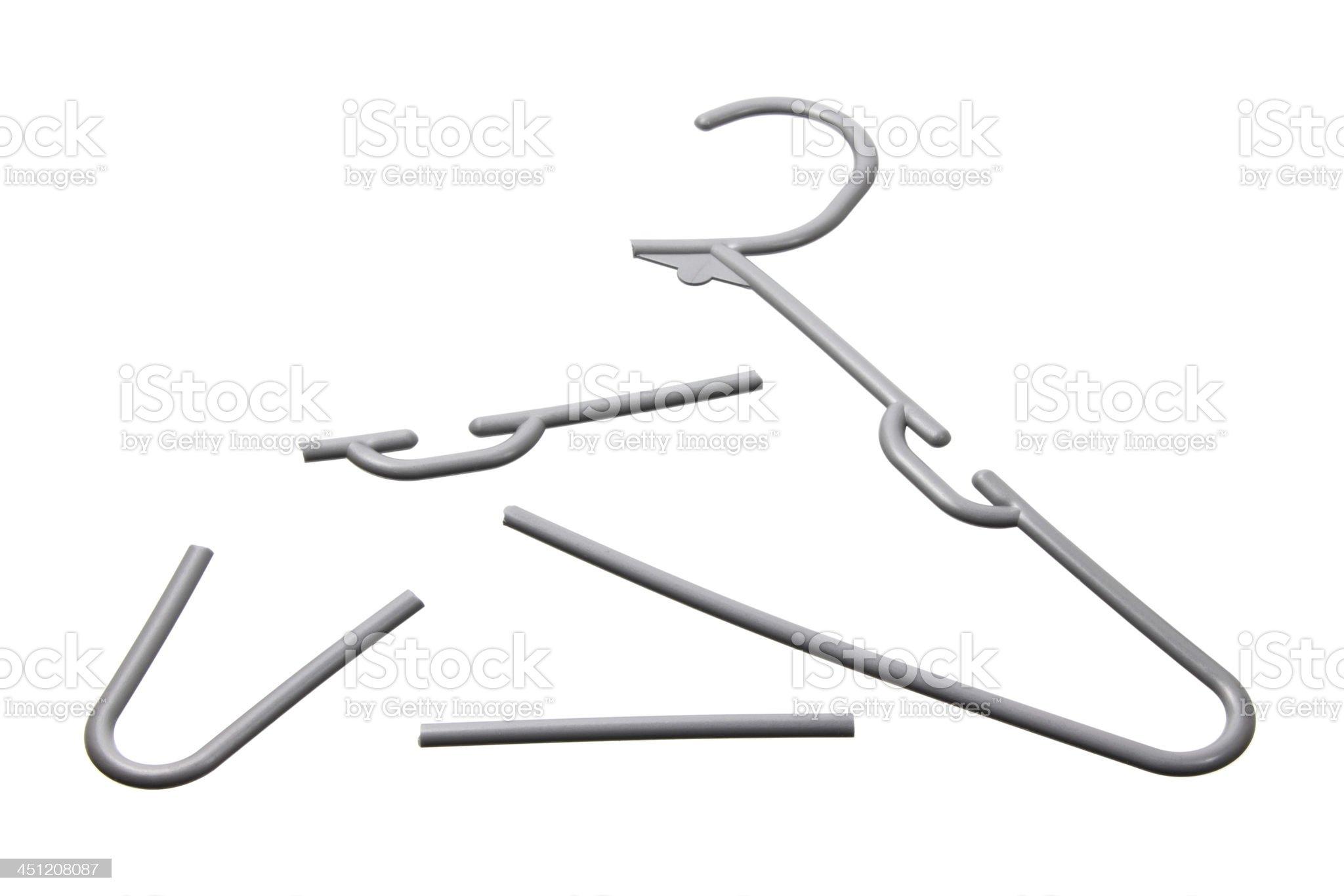 Broken Clothes Hanger Stock Photo   Download Image Now   iStock
