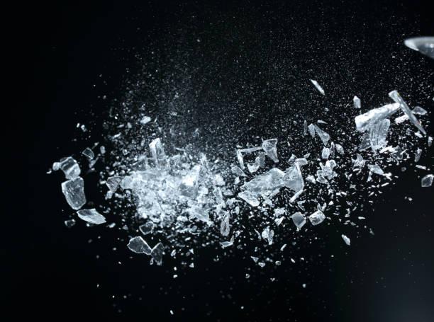 gebrochene Kristalle – Foto