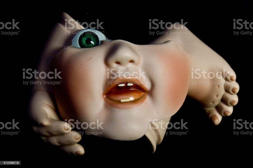 Broken Doll 1 stock photo