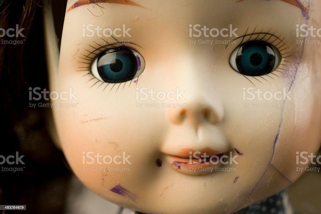 Broken Doll stock photo