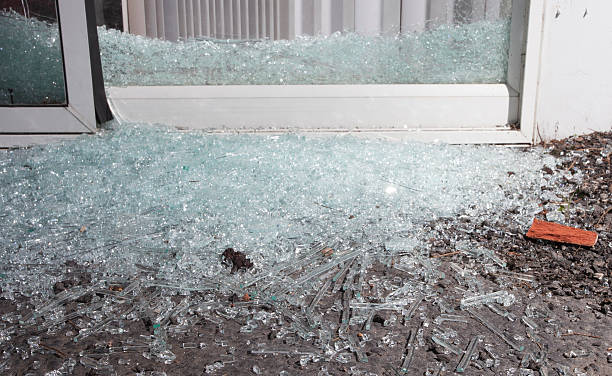 Royalty Free Shattered Glass Door Pictures Images And Stock Photos