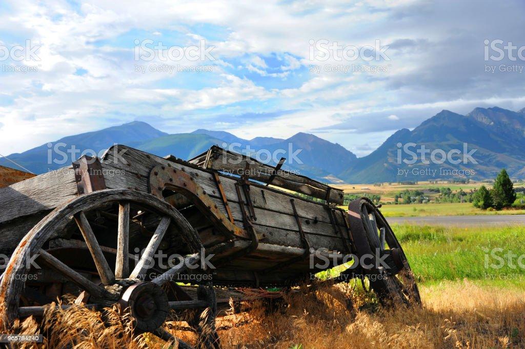Maar wat een uitzicht uitgesplitst - Royalty-free Absaroka Range Stockfoto