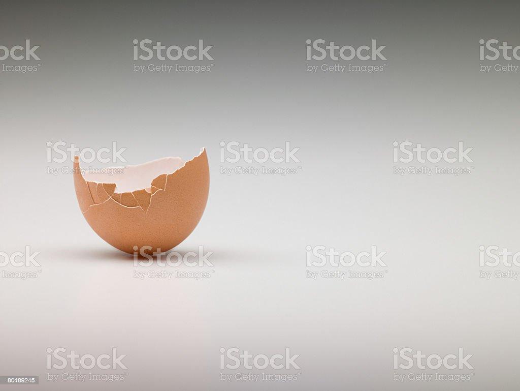 Broken egg royalty-free stock photo