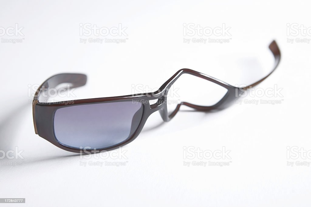 Broken eyewear stock photo