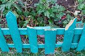 istock broken fence in the garden 903022980
