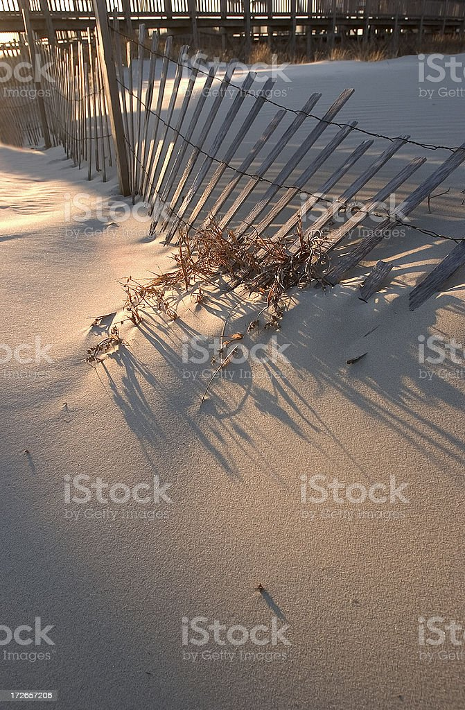 Broken Fence,Vertical royalty-free stock photo