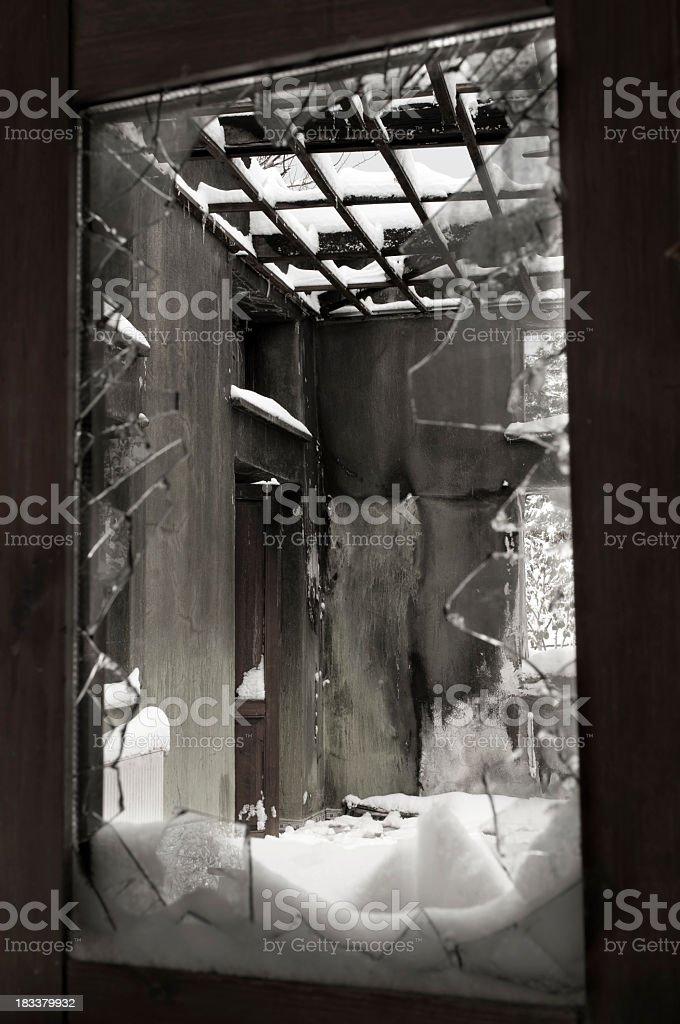 Broken Frame stock photo