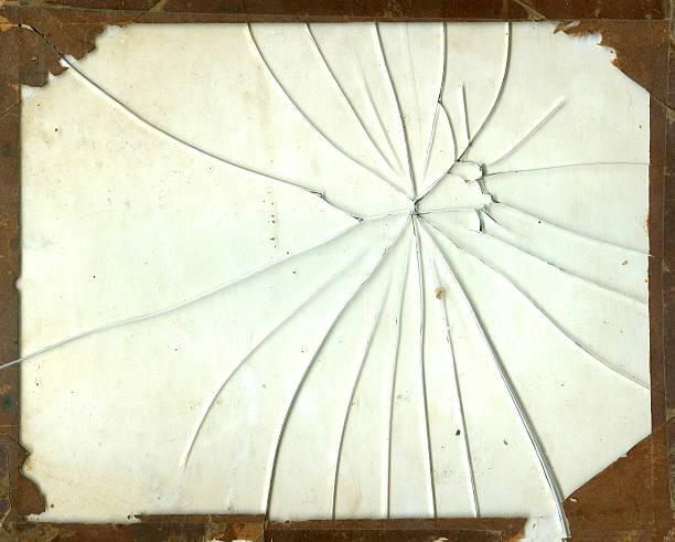 broken glas frame - foto im glas stock-fotos und bilder