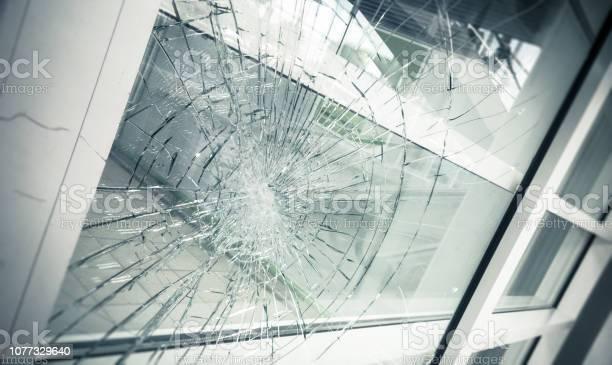 Gebroken Glas Stockfoto en meer beelden van Beveiliging