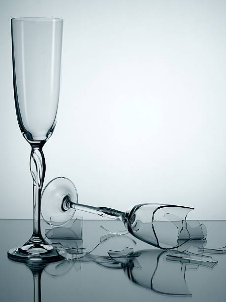 Zerbrochenes Glas – Foto