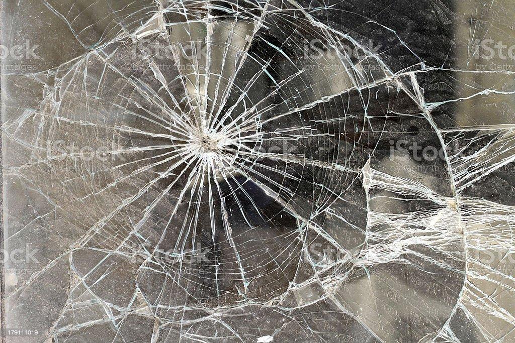 Broken glass. stock photo
