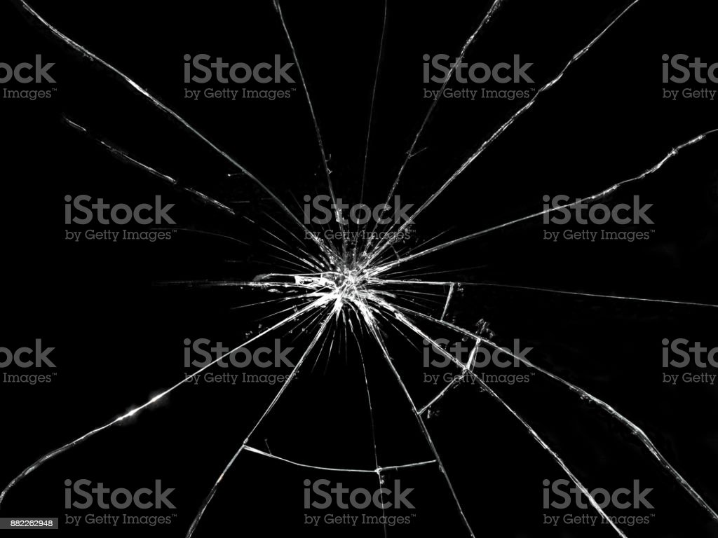 Gebroken glas - Royalty-free Abstract Stockfoto