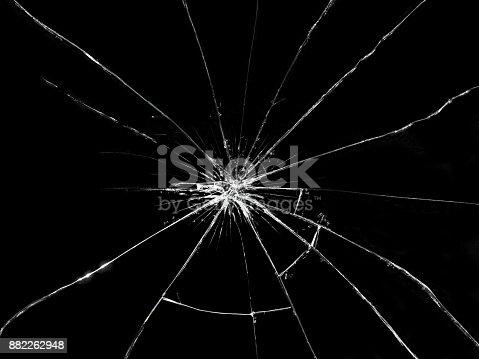 istock Broken glass 882262948