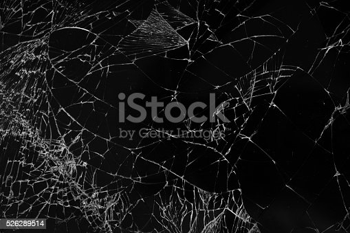 broken glass texture background