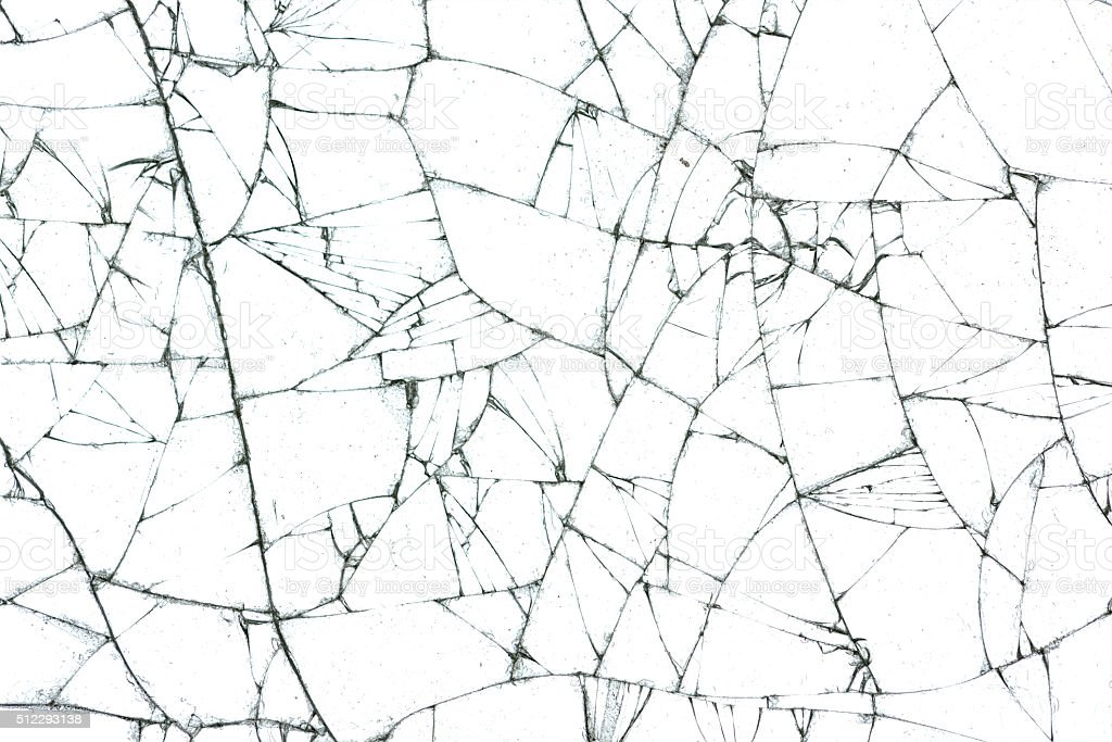 broken glass texture stock photo
