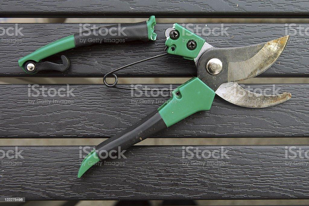 Broken Grip stock photo