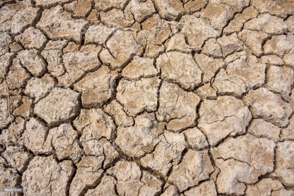 Broken ground image, drought.