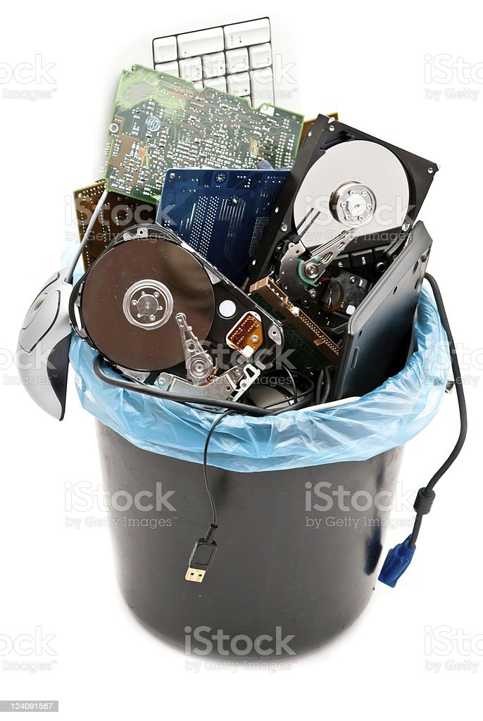 Broken hardware royalty-free stock photo