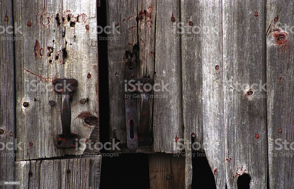 Broken Hasp royalty-free stock photo