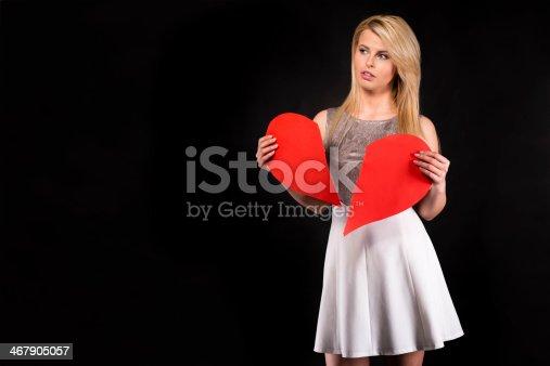182781451 istock photo Broken Heart 467905057