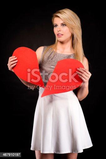 182781451 istock photo Broken Heart 467910197