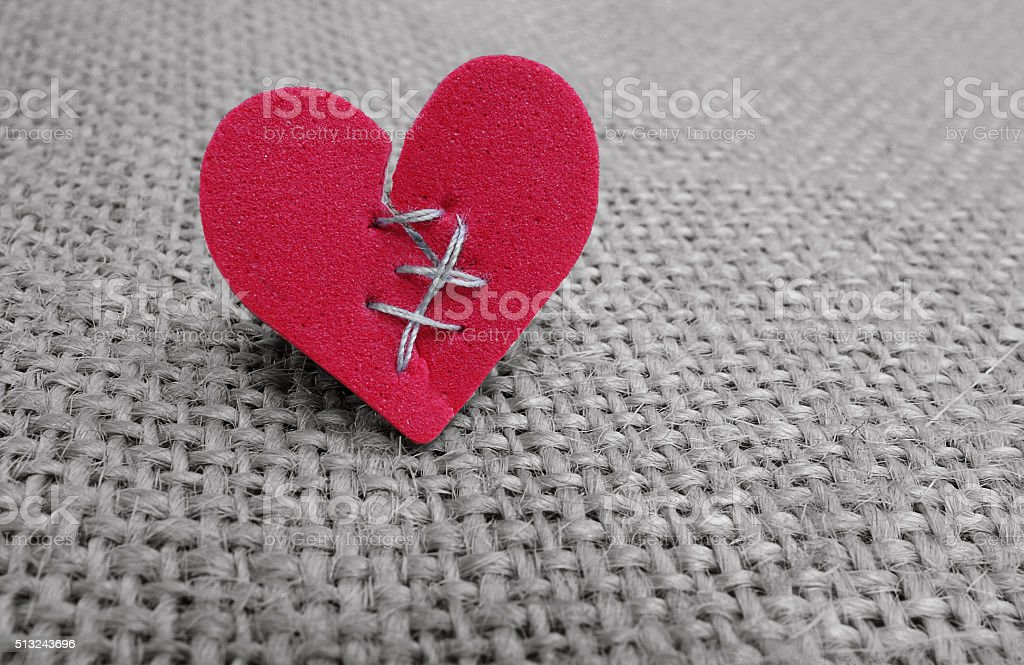 broken hearted bildbanksfoto