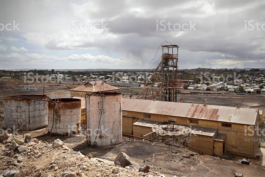 Broken Hill, Australia stock photo