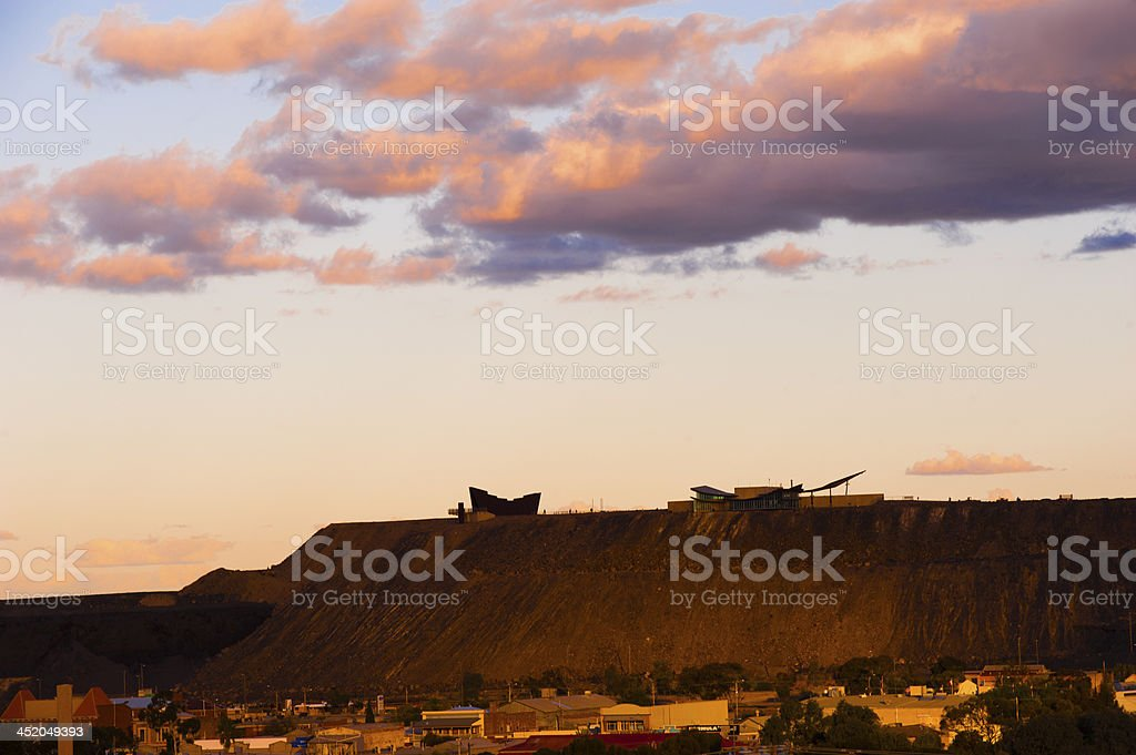 Broken Hill stock photo