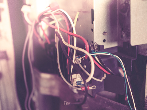 istock Broken Industrial Air-Conditioner 805225912