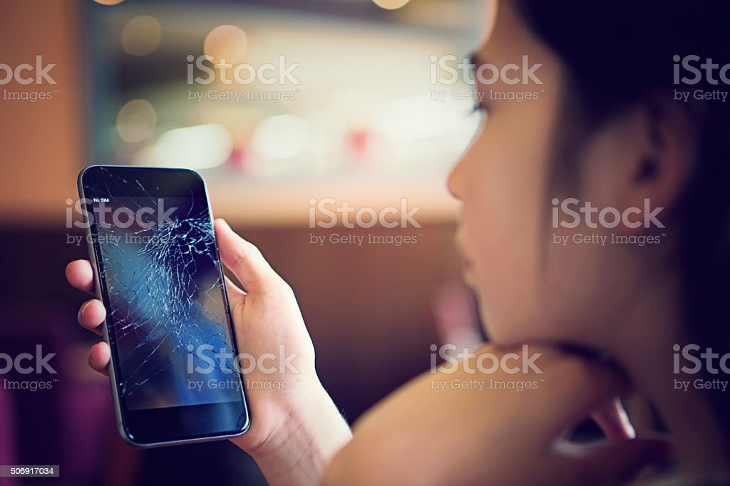 Broken Handy – Foto