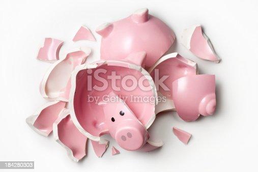 Broken piggy bank.Similar photographs from my portfolio: