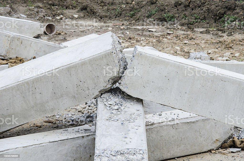 Broken pillar royalty-free stock photo