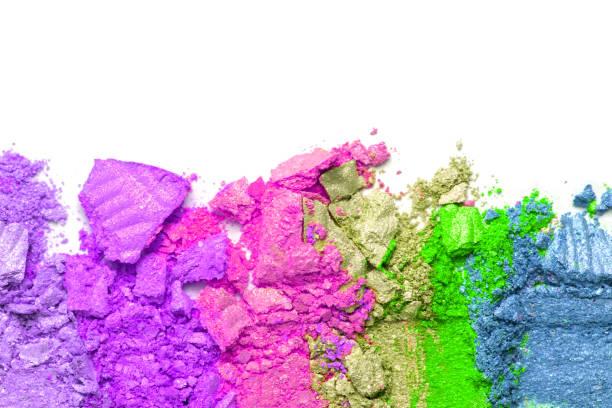 Broken rainbow colored eye shadow smear make up palette isolated on a picture id1180931881?b=1&k=6&m=1180931881&s=612x612&w=0&h=fjm3mc7d11ez3qoee6ubzc5ac5uopufdfjwatpo26to=