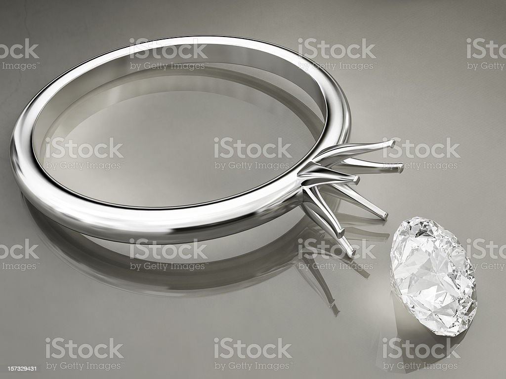 Broken Ring royalty-free stock photo
