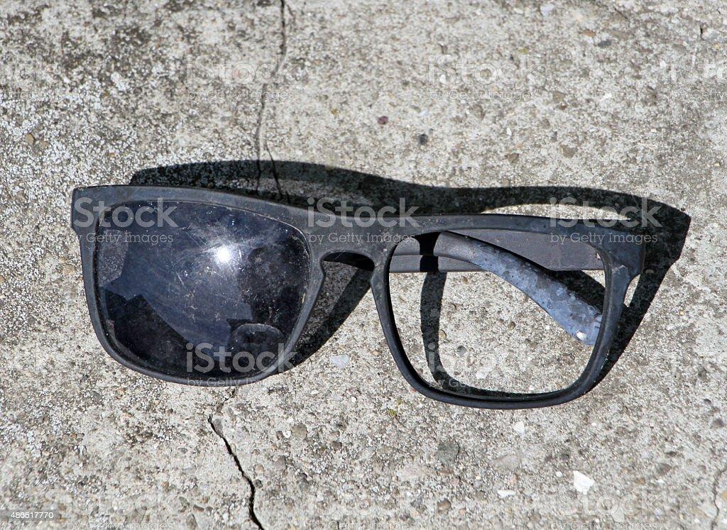 Broken Shades stock photo