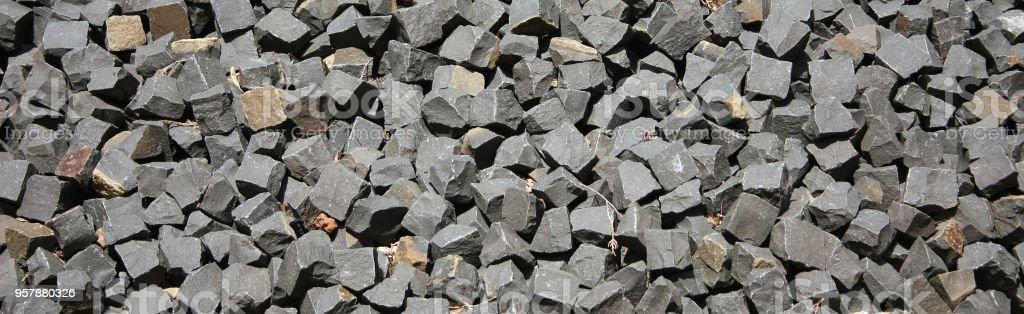 broken stone background stock photo