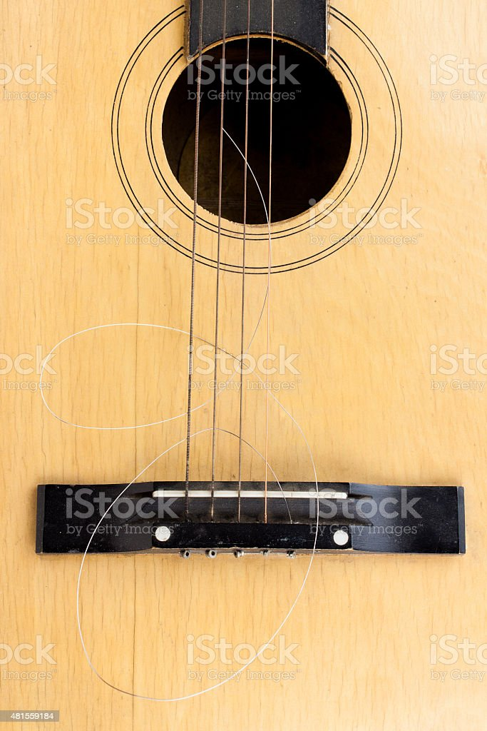 Broken String stock photo