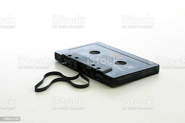 Broken Tape Stock Photo - Download Image Now