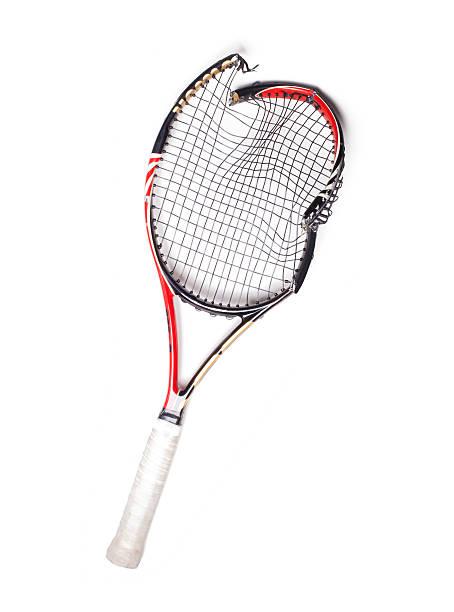 Broken Raquette de Tennis - Photo