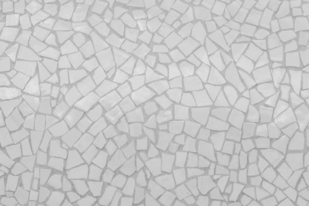 kaputte fliesen mosaik nahtlos muster. - glitter farbige wände stock-fotos und bilder