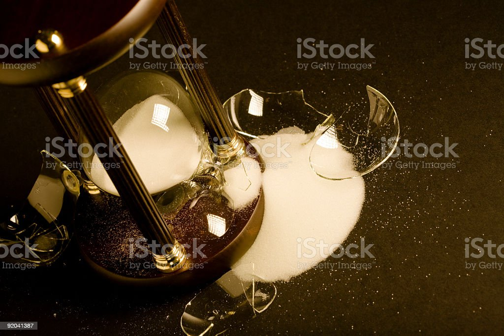 Broken Time royalty-free stock photo