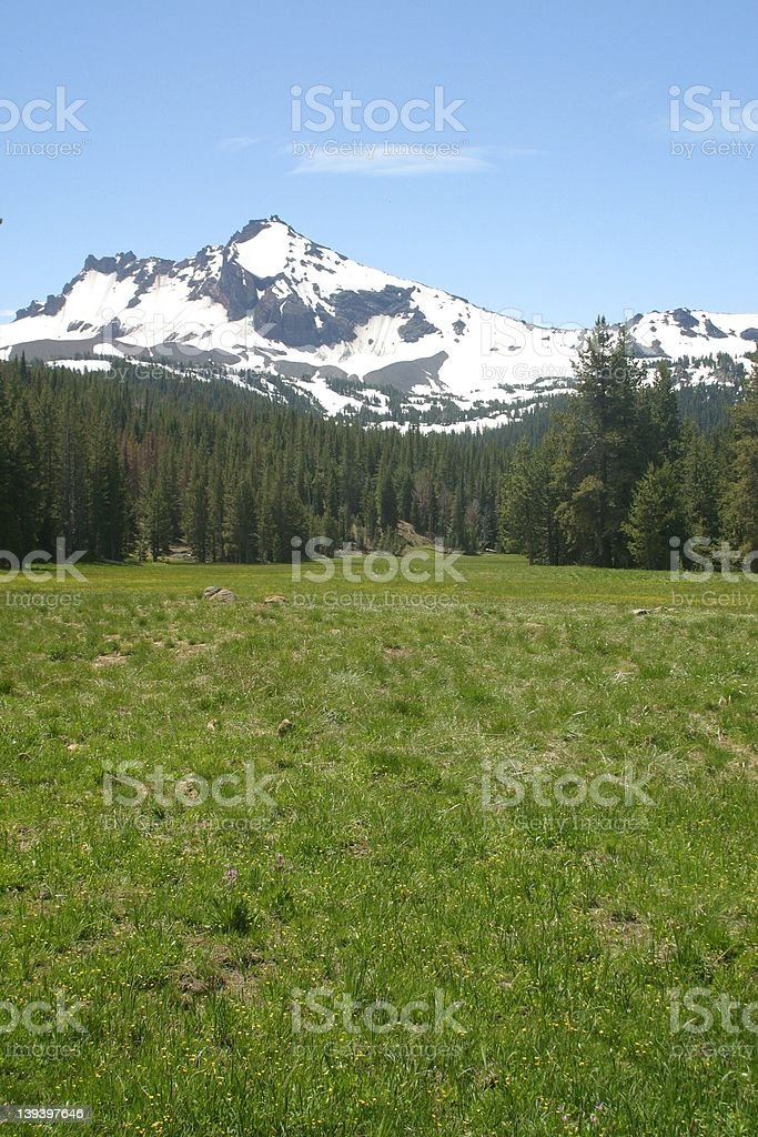 Broken top Mountain 2 royalty-free stock photo