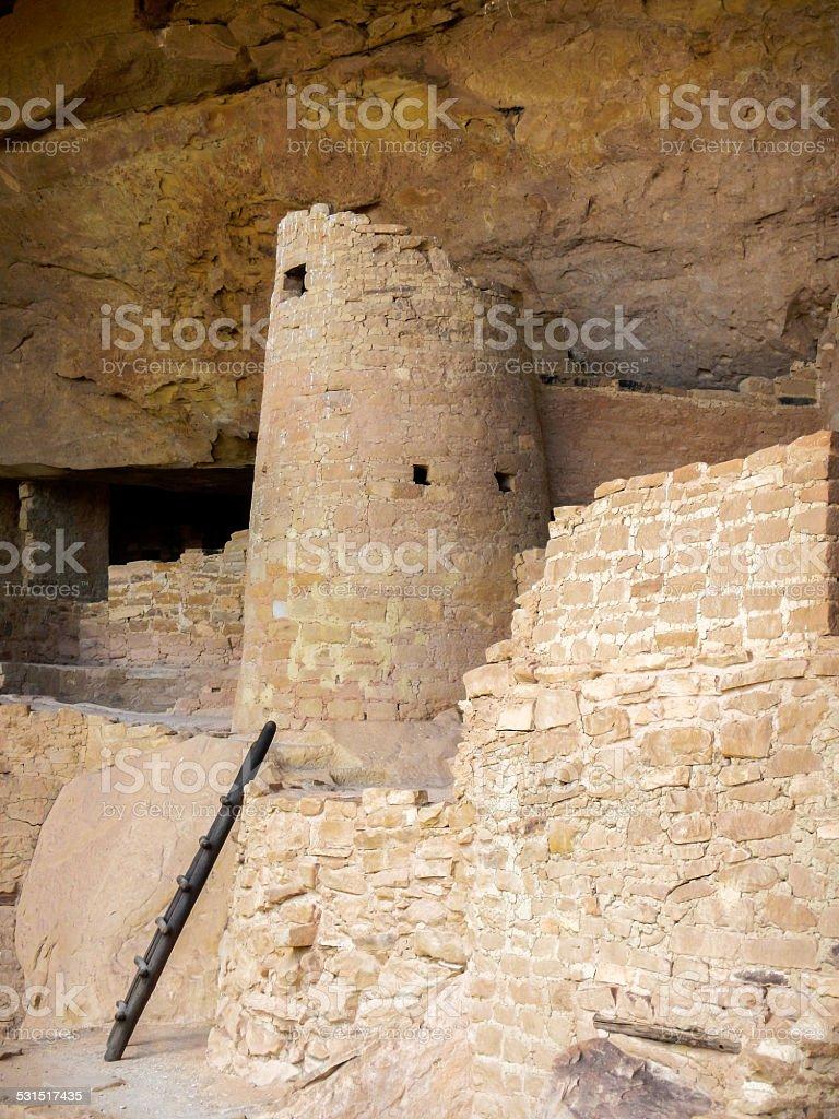 Broken Tower stock photo