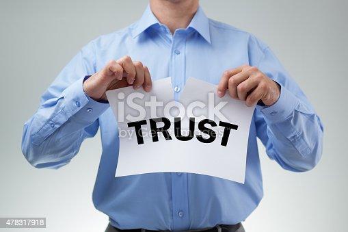 istock Broken trust 478317918
